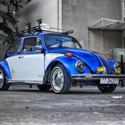 Autoverischerung Betzdorf VW Käfer Blau Grau