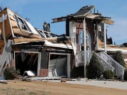Wohngebäudeversicherung - Wohnhaus wurde nach einem Sturm komplett zerstört